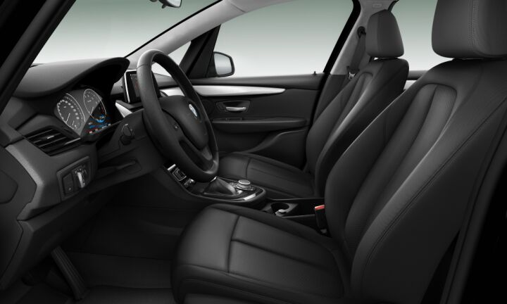 Vista Interior derecha del BMW Serie 2 225xe iPerformance Active Tourer