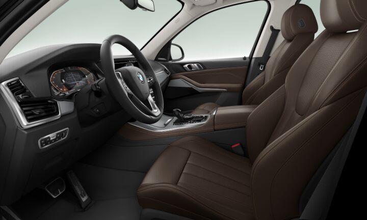 Vista Interior derecha del BMW X5 xDrive30d