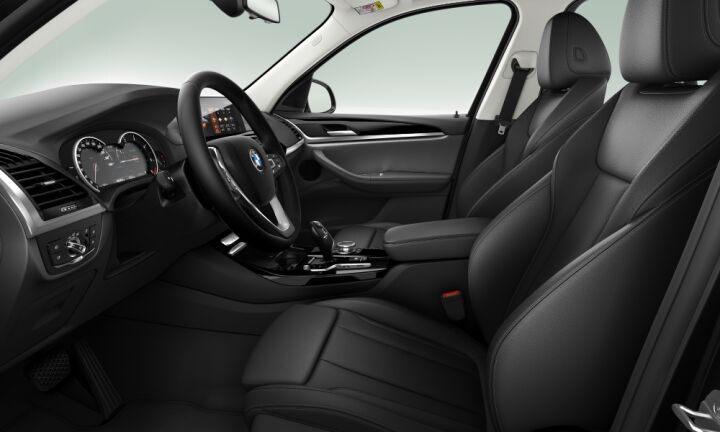 Vista Interior derecha del BMW X3 xDrive20d