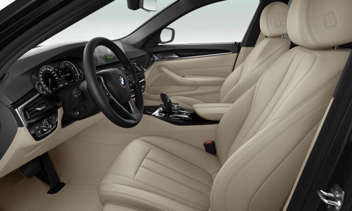 Vista Interior derecha del BMW Serie 5 530d Touring