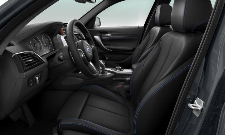 Vista Interior derecha del BMW Serie 1 120i