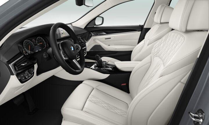 Vista Interior derecha del BMW Serie 5 530i