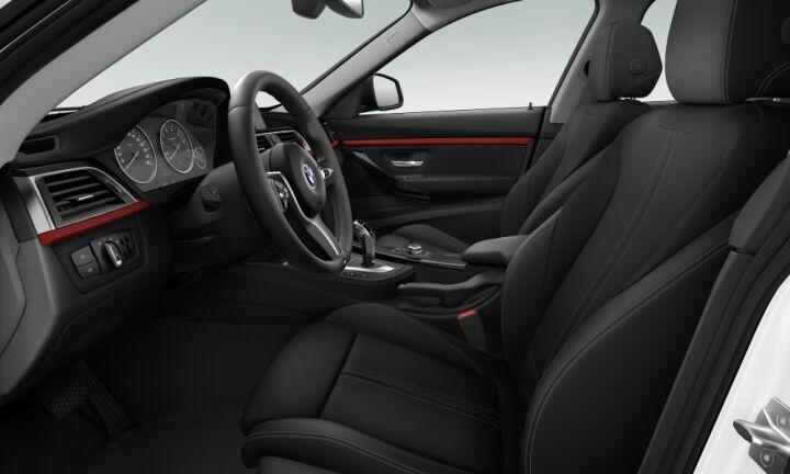 Vista Interior derecha del BMW Serie 3 320i Gran Turismo
