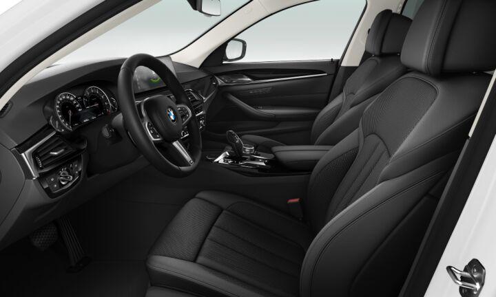 Vista Interior derecha del BMW Serie 5 520i Touring