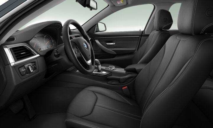 Vista Interior derecha del BMW Serie 4 420i Gran Coupe