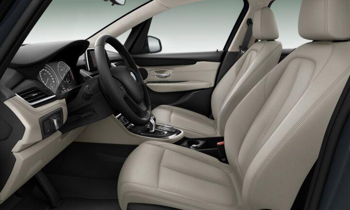 Vista Interior derecha del BMW Serie 2 218i Active Tourer