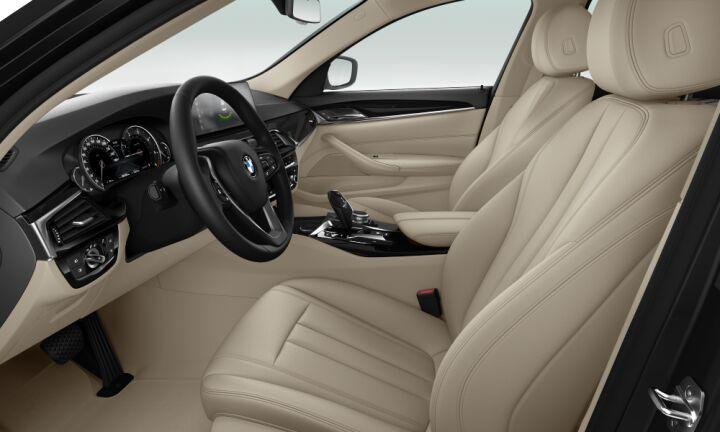 Vista Interior derecha del BMW Serie 5 520d