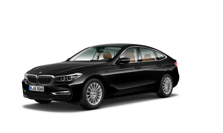 Vista Tres cuartos delantera izquierda del BMW Serie 6 630d Gran Turismo
