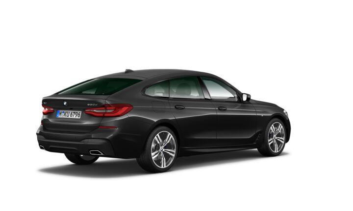 Vista Tres cuartos trasera izquierda del BMW Serie 6 630d Gran Turismo