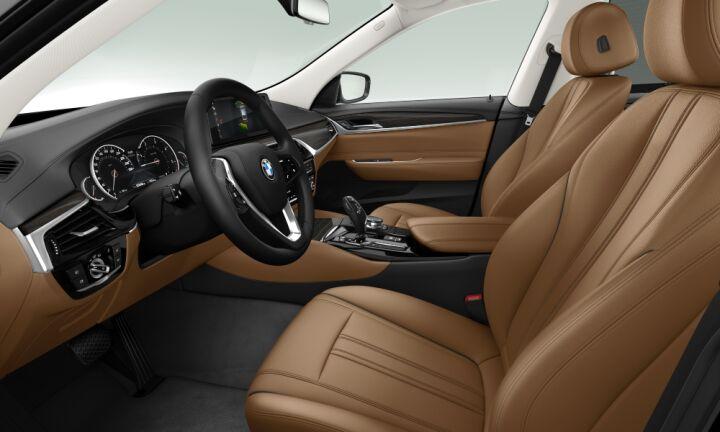 Vista Interior derecha del BMW Serie 6 620d Gran Turismo