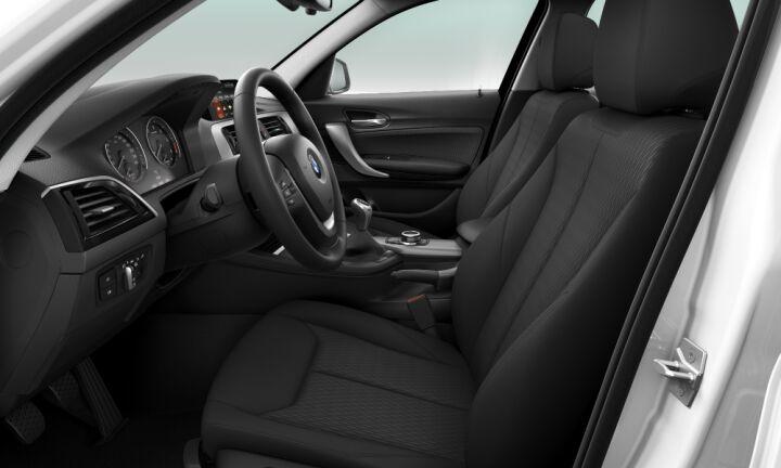 Vista Interior derecha del BMW Serie 1 116d