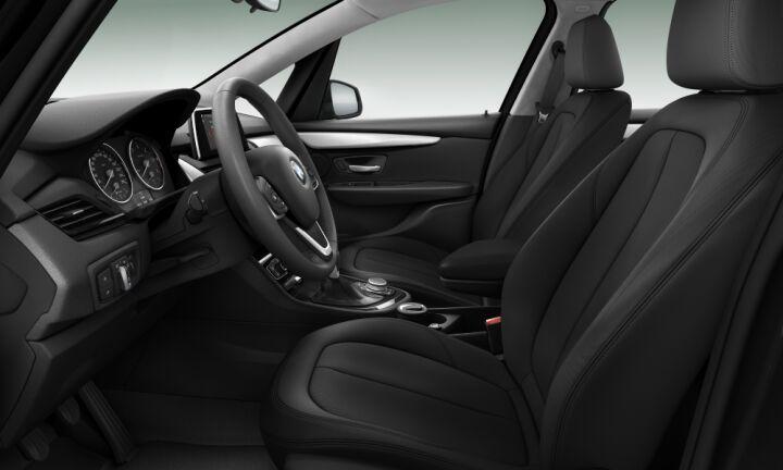 Vista Interior derecha del BMW Serie 2 216d Gran Tourer 85 kW (116 CV)