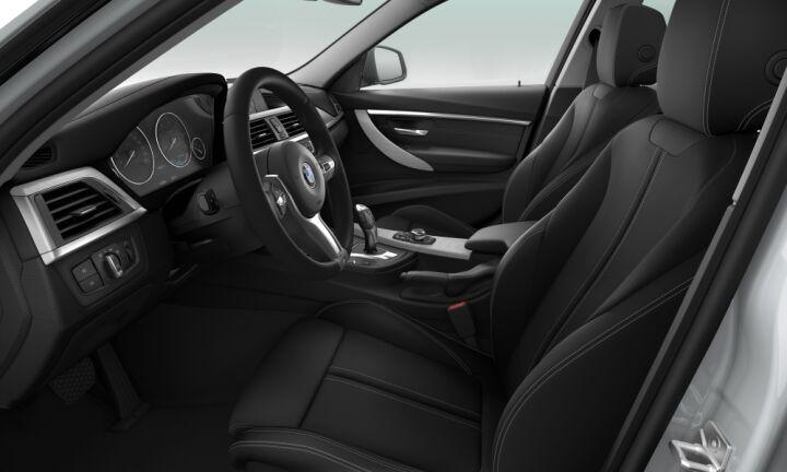 Vista Interior derecha del BMW Serie 3 318d Touring