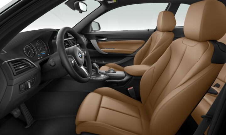 Vista Interior derecha del BMW Serie 2 220d Coupe