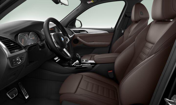 Vista Interior derecha del BMW X3 xDrive30i