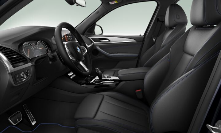 Vista Interior derecha del BMW X3 xDrive20i
