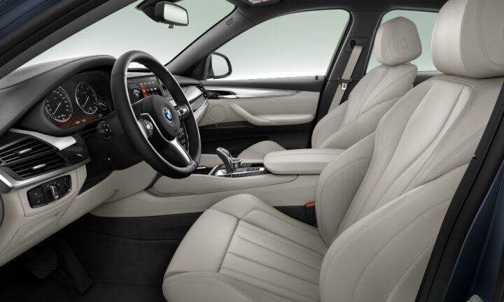 Vista Interior derecha del BMW X6 xDrive30d