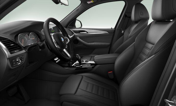 Vista Interior derecha del BMW X3 xDrive25d