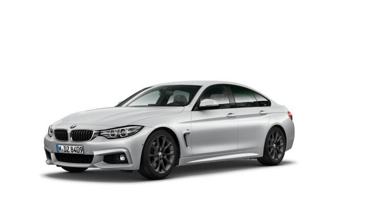 Vista Tres cuartos delantera izquierda del BMW Serie 4 418d Gran Coupe