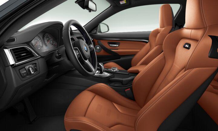 Vista Interior derecha del BMW M M4 Coupe