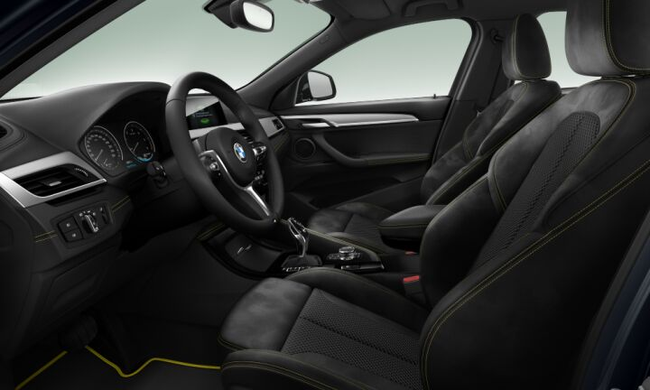 Vista Interior derecha del BMW X2 xDrive20d