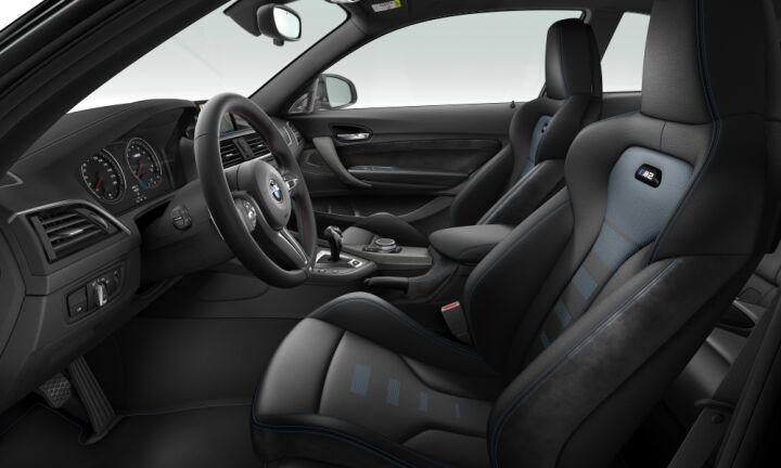 Vista Interior derecha del BMW M M2 Competition