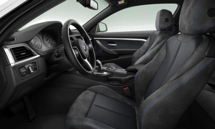 Vista Interior derecha del BMW Serie 4 420d Coupe