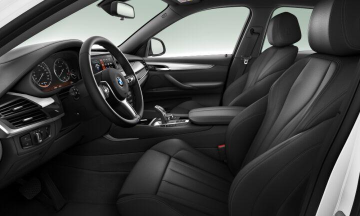 Vista Interior derecha del BMW X6 xDrive40d