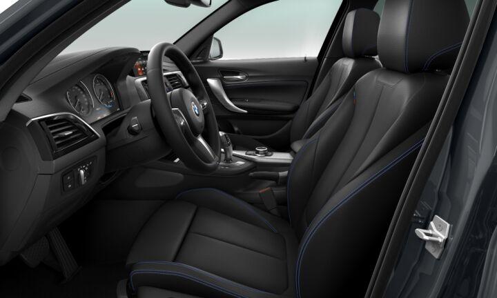 Vista Interior derecha del BMW Serie 1 118d