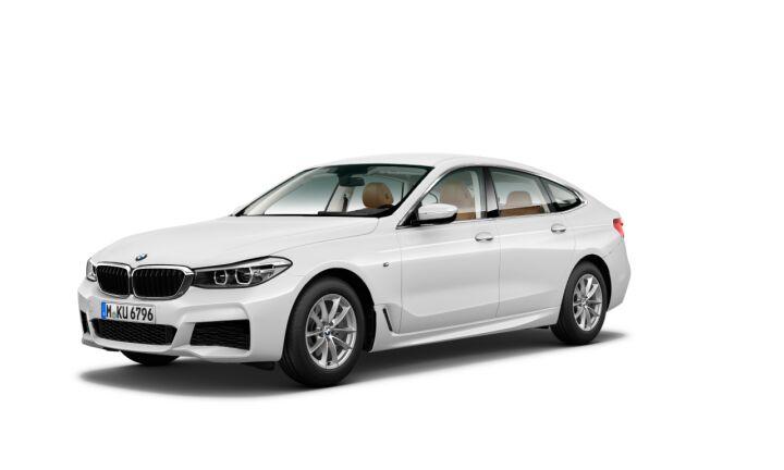 Vista Tres cuartos delantera izquierda del BMW Serie 6 620d Gran Turismo
