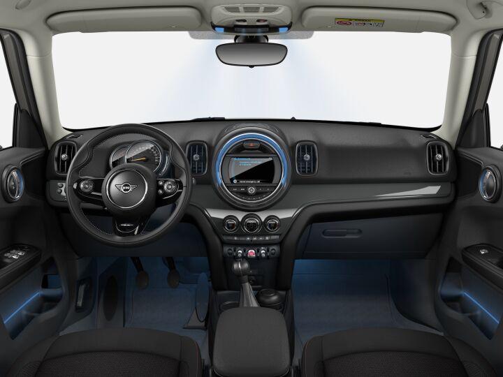 Vista Interior delantera del MINI Countryman 85 kW (116 CV)