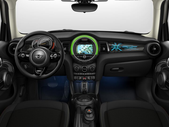 Vista Interior delantera del MINI 5 Puertas Cooper S 100 kW (136 CV)