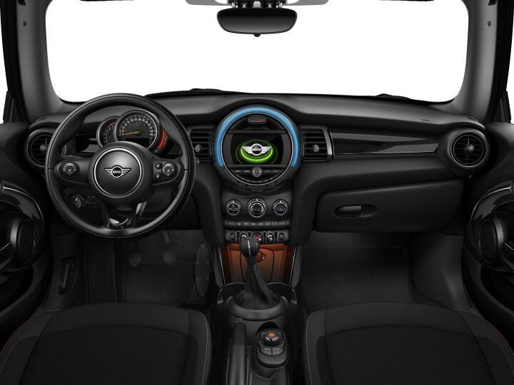 Vista Interior delantera del MINI Cabrio One 75 kW (102 CV)