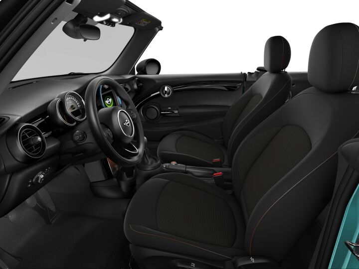 Vista Interior derecha del MINI Cabrio One 75 kW (102 CV)