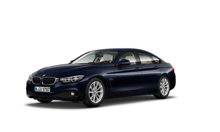 Vista Tres cuartos delantera izquierda del BMW Serie 4 420d Gran Coupe