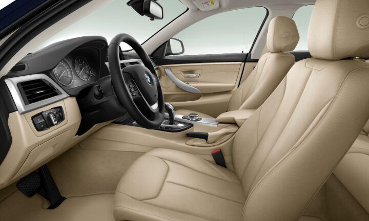 Vista Interior derecha del BMW Serie 4 420d Gran Coupe
