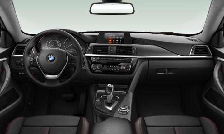 Vista Interior delantera del BMW Serie 4 418d Gran Coupe 110 kW (150 CV)