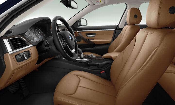 Vista Interior derecha del BMW Serie 4 418d Gran Coupe