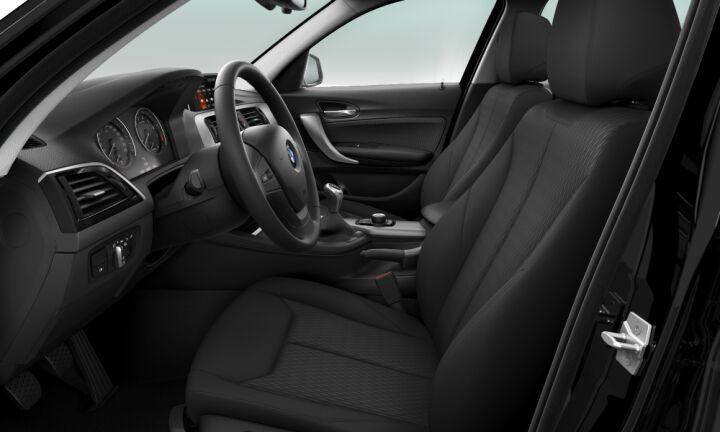 Vista Interior derecha del BMW Serie 1 116i