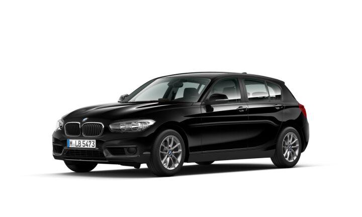 Vista Tres cuartos delantera izquierda del BMW Serie 1 116i