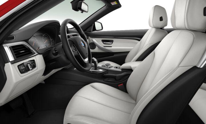 Vista Interior derecha del BMW Serie 4 420i Cabrio