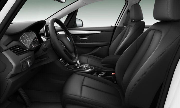 Vista Interior derecha del BMW Serie 2 218d Active Tourer