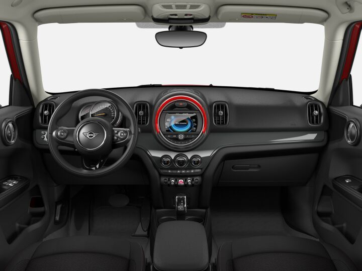 Vista Interior delantera del MINI Countryman One D 85 kW (116 CV)