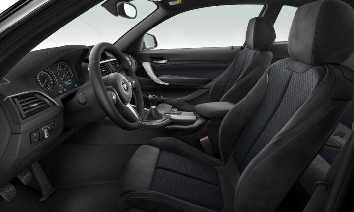 Vista Interior derecha del BMW Serie 2 218d Coupe
