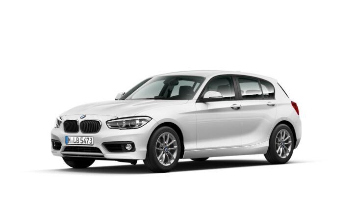 Vista Tres cuartos delantera izquierda del BMW Serie 1 118d xDrive 110 kW (150 CV)