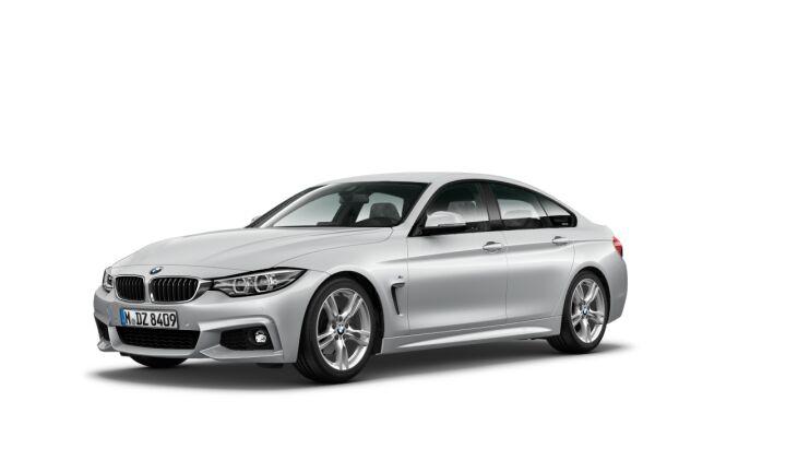 Vista Tres cuartos delantera izquierda del BMW Serie 4 420i Gran Coupe