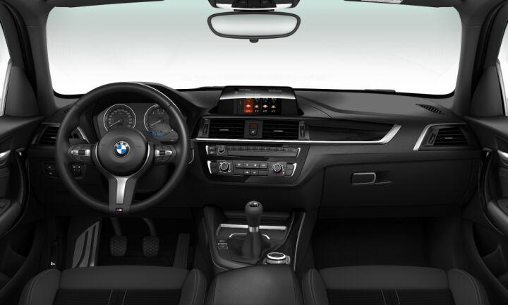 Vista Interior delantera del BMW Serie 1 118i 100 kW (136 CV)