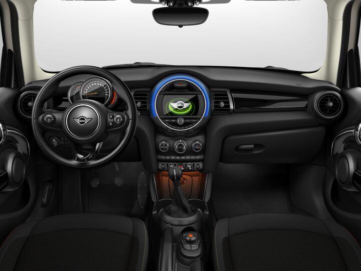 Vista Interior delantera del MINI 5 Puertas One 75 kW (102 CV)