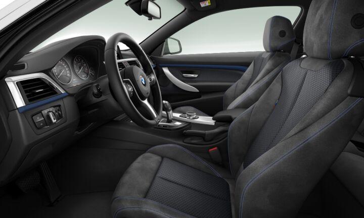 Vista Interior derecha del BMW Serie 4 420i Coupe