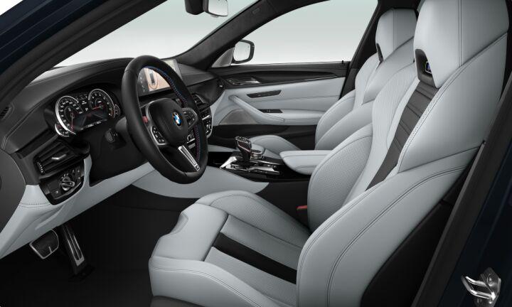 Vista Interior derecha del BMW M M5